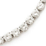 1930's Diamond Collet Necklace