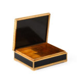 open view, Janesich Malachite and Onyx Table Box