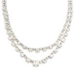 detail view, Art Deco Diamond Necklace