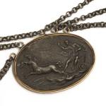 Berlin Iron necklace - medallion