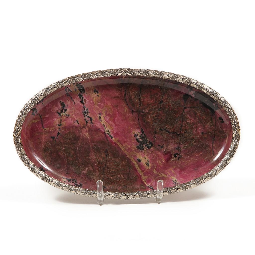 Fabergé Rhodonite Tray