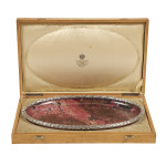 Fabergé  Rhodonite Tray, box