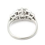 Antique Diamond Cushion-cut Engagement Ring