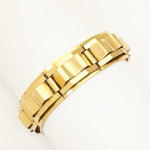 Retro Machine Aesthetic Gold Bracelet