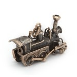 Victorian Gold and Silver Locomotive, back