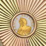 Faberge Miniature Waste Basket, Elizabeth