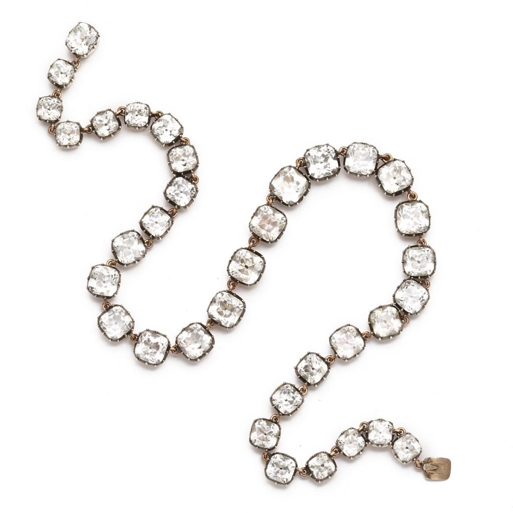 Antique Rock Crystal Necklace