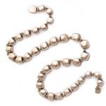 Antique Rock Crystal Necklace, back
