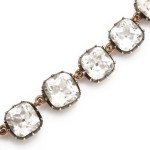 Antique Rock Crystal Necklace, detail