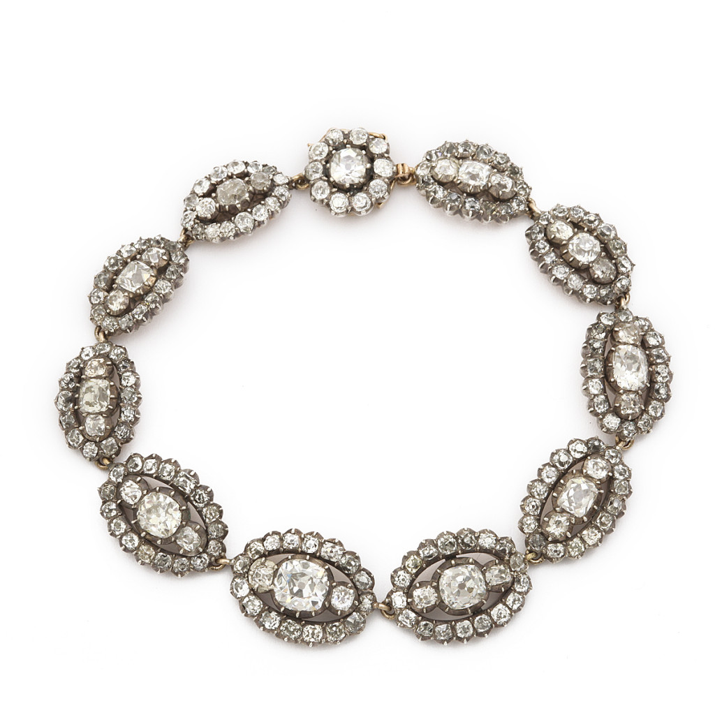 Victorian Old Mine Diamond Bracelet