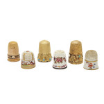 Collection of Antique Thimbles