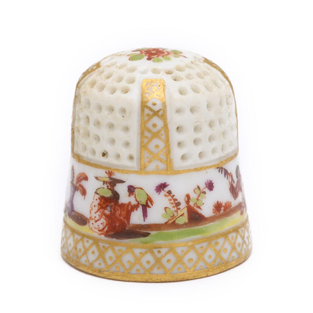 Meissen Porcelain Thimble