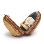 Meissen Porcelain Thimble, box