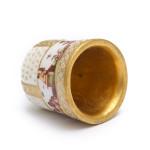 Meissen Porcelain Thimble, interior