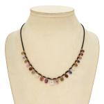 Victorian Multi-gem Drop Necklace