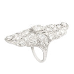 Edwardian Diamond Dinner Ring, b