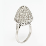 1920s Pavé Diamond Ring