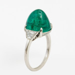 Edwardian Emerald and Diamond Ring