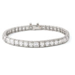 other view, Antique French-cut Diamond Bracelet by Tiffany & Co.