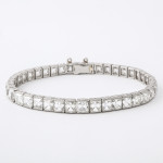 Antique French-cut Diamond Bracelet by Tiffany & Co.