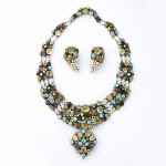 Arts and Crafts Necklace and Earrings by Dorrie Nossiter