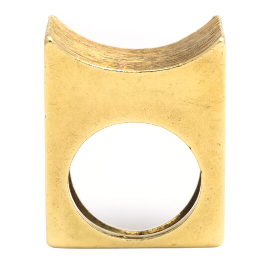 other view, 1960s Gold Ring