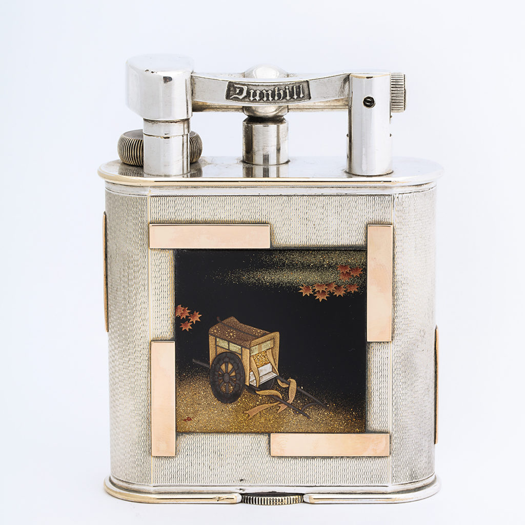 cigarette lighter, front view