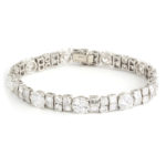 main view, Antique Diamond Bracelet