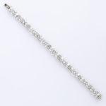 long view, Antique Diamond Bracelet