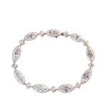 main view, Antique Diamond Bracelet by Tiffany & Co.
