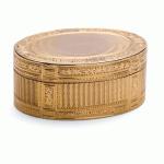 Louis XVI Oval Gold Snuffbox