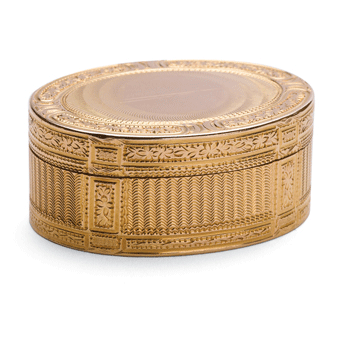 Louis XVI Oval Gold Snuffbox