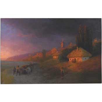 Ukrainian Landscape by Aivazovsky