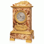 Antique Russian Mantel Clock