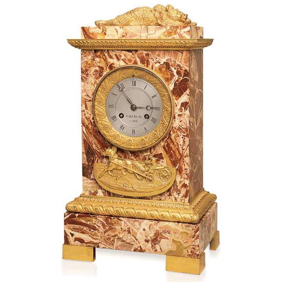 Antique Russian Mantel Clock