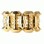 Two-color 18k Gold Retro Bracelet