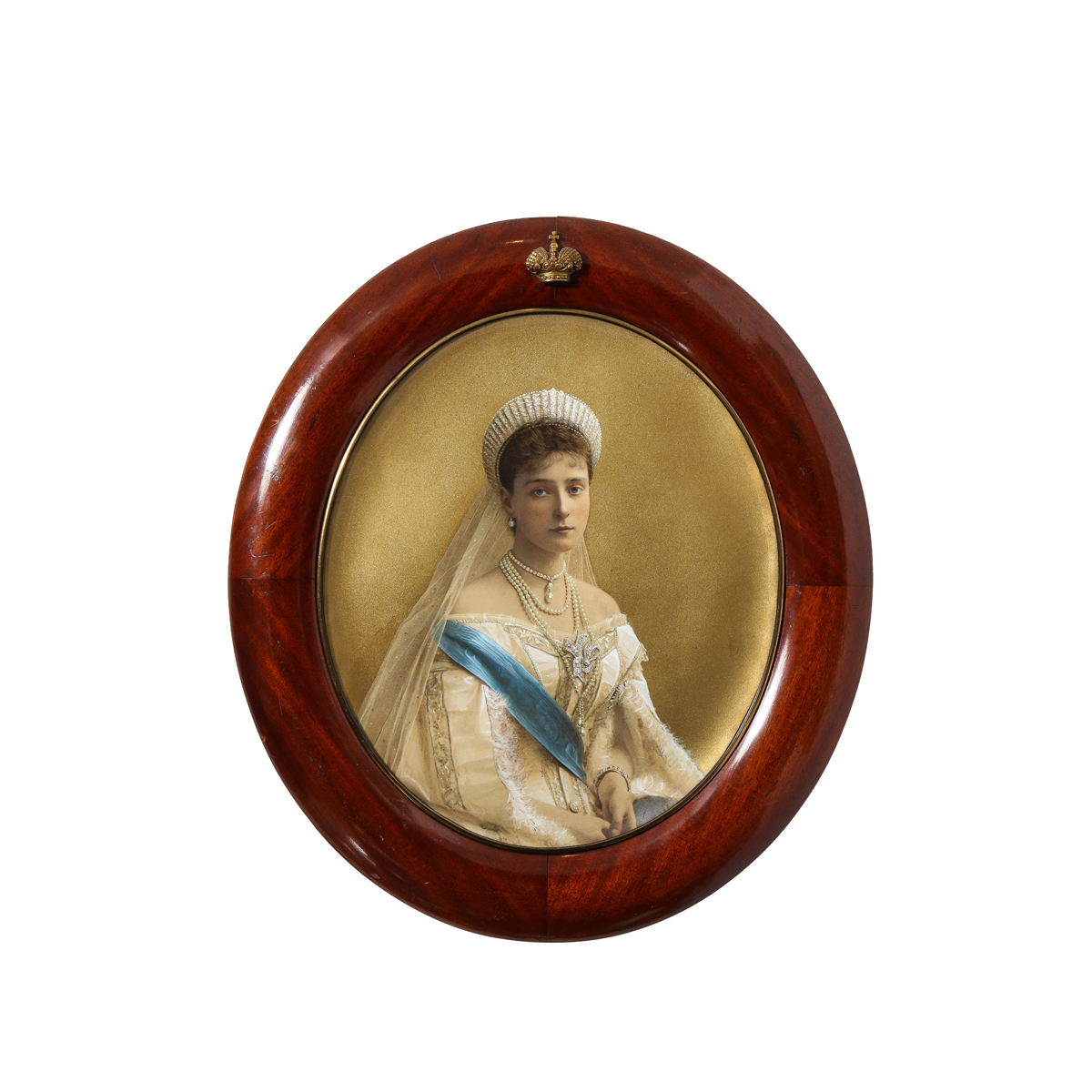 main view, portrait of Russian Empress Alexandra Feodorovna