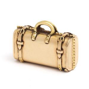 antique miniature suitcase