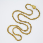 Georgian Gold Chain Necklace