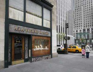 ALVR storefront Fifth Avenue