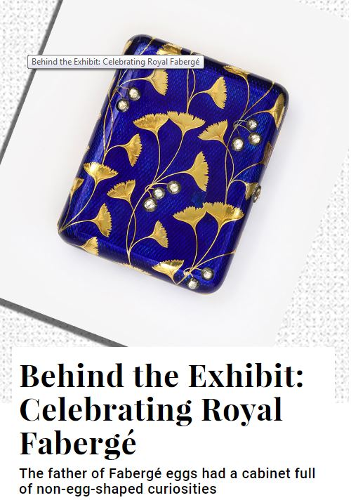 ALVR Dujour mag Celebrating Royal Faberge coverage