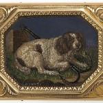 mosaic detail, Antique Micromosaic Snuffbox