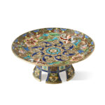main image, Russian enamel tazza by Ruckert