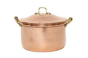 Faberge copper pot