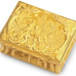George II Finely Chased Gold Box