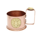 Fabergé World War I Copper Tea Glass Holder