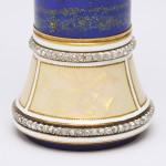 Fabergé Lapis Lazuli Desk Seal, detail