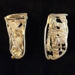 William Harper gold earrings