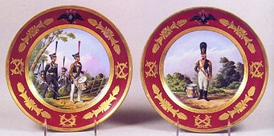 Military Plates c. 1816