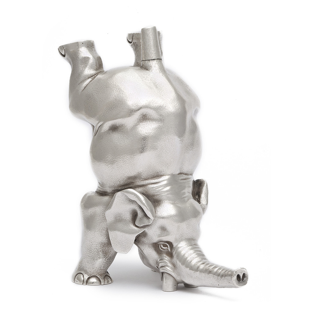 Fabergé Silver Elephant Stamp Moistener